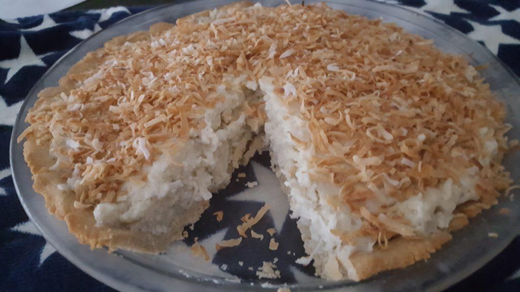 Coconut Cream Pie - Gluten, Sugar & Dairy Free