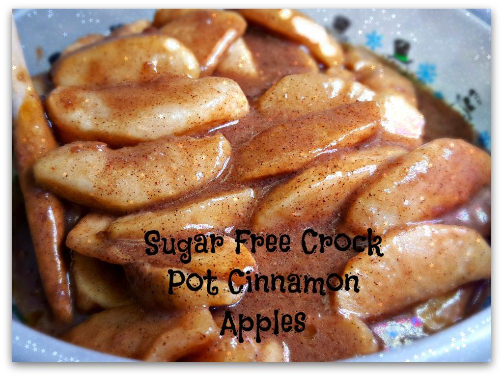 Sugar Free Crock Pot Cinnamon Apples